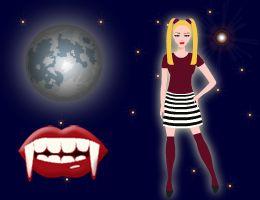 Vampirmädchen